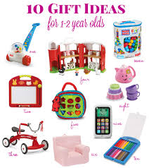 gift ideas for a 1 year s tidbits