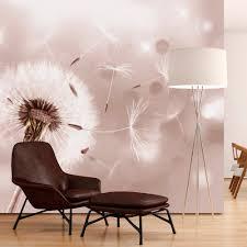 Fototapete Schlafzimmer Braun Vlies Fototapete 3 Farben Zur Auswahl Tapeten Pusteblume Abstrakt