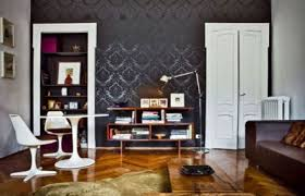 black wallpaper room designs video and photos madlonsbigbear com