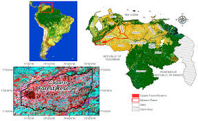 Venezuela Map Forests Free Full Text Carbon Emissions From Deforestation And