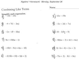 printable algebra worksheets with answers worksheets