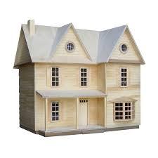 1 2 inch scale country farmhouse dollhouse kit u2013 real good toys