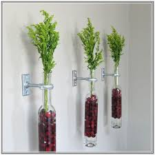 glass wall vase sconce home design ideas glass wall sconce vase
