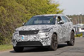 orange range rover svr spied 2018 range rover velar svr tests at the nurburgring motor