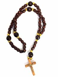 wooden rosary wooden rosary prayer rope with cross 11 at holy