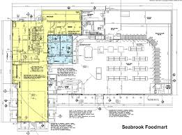 Fast Food Restaurant Floor Plan Seabrook Food Mart Wmf Investments