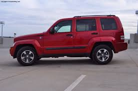red jeep liberty 2008 jeep liberty sport review rnr automotive blog