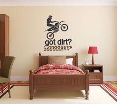 motocross wall decal motocross decor dirt bike wall decal zoom