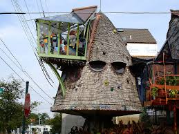 Crazy Houses Tree House Crazy House In Cincinnati Oh Close To Hyde Pa U2026 Flickr