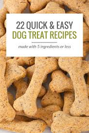 Diy Dog And Cat Treats by 25 Simple Dog Treat Recipes 5 Ingredients Or Less Puppy Leaks