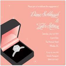 engagement brunch invitations modern pink wedding ring engagement invitations engagement party