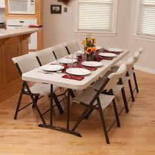 fold up dining room table and chairs furniture tremendous folding tables walmart for alluring home