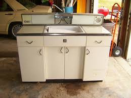 retro metal kitchen cabinets home design