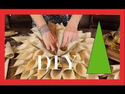 christmas decorating christmas wreath old book pages youtube