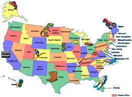 usa map kindergarten united states map for kindergarten