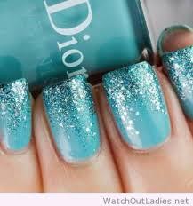 nail polish dior glitter blue nail art party make up wedding