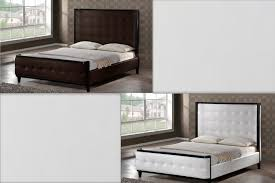 tall white leather headboard bedroom fabulous image of new in minimalist ideas tall white
