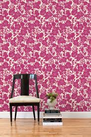 Pink Removable Wallpaper by When Art And Wallpaper Collide Puddingstone Post