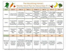 bi weekly whole food meal plan for sept 28 u2013oct 11 meals dinners