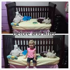 Converting A Crib To A Toddler Bed by Hillside Mommy Crib To Toddler Bed Transition