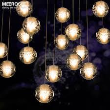 shop modern sphere lights led meteor shower