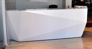 Contemporary Reception Desks Best Modern White Reception Desk Images House Design Ideas
