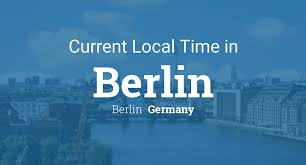 Australian Time Zone Map by Current Local Time In Berlin Berlin Germany