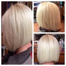 mid length hair cuts longer in front medium length bob hair pinterest medium length bobs bobs