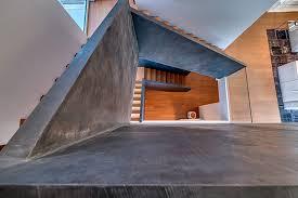 Interior Concrete Stairs Design Concrete Stair Well Interior Design Ideas