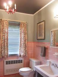 pink tile bathroom ideas pink tile bathroom decorating ideas home interior decorating ideas