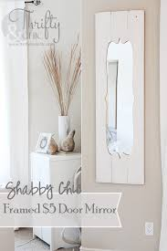 shabby chic doors turn a cheap door mirror into a shabby chic hometalk