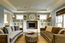 Built In Bookshelves Around Fireplace by Built Ins Around Fireplace Living Room Craftsman With Built In