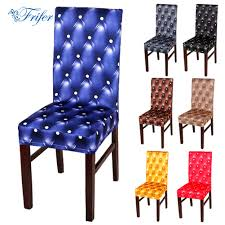 dining room chair protective covers aliexpress com buy 1pcs spandex dining chair slipcovers