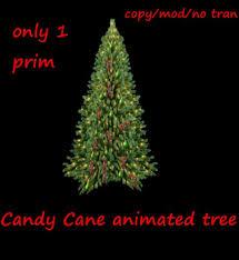 second life marketplace animated candy cane christmas tree multi