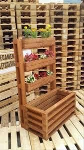 Diy Vertical Pallet Garden - maceteros de madera macetas pinterest planters pallets and