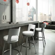 furniture amisco bar stools bring comfort to your home bar or