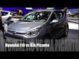 Kia I10 Hyundai I10 2014 Vs Kia Picanto 2014