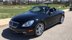 lexus convertible sc430 2006 lexus sc430 convertible t131 1 houston 2017