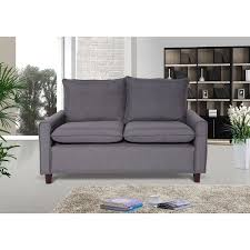 Modern Loveseat Blaire Fabric Modern Loveseat Free Shipping Today Overstock