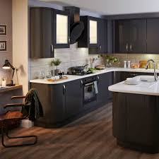 by design kitchens our santini gloss anthracite slab kitchen is bold and dramatic