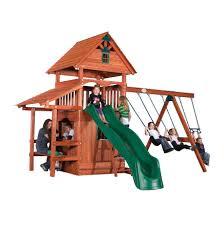 back yard adventures custom built wooden swing sets