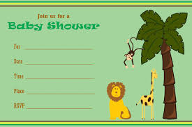 jungle baby shower jungle theme baby shower party ideas