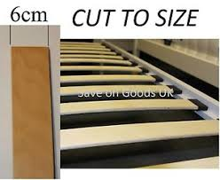 6cm spare wood bed slat replacement wooden frame slatts curved