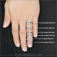 3 engagement ring 9 ct asscher cut 3 engagement ring