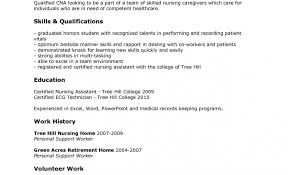 resume for cna exles cover letter for cna stunning nursing informatics specialist cover