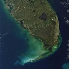 satellite map of florida earth snapshot the everglades and miami florida november 21st