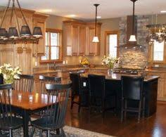 Oak Cabinet Kitchens Like The Wall Oven And Stovetop Config Also Like The Oak Cabinets