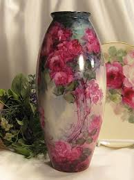 Antique Hand Painted Vases Best 25 Victorian Vases Ideas On Pinterest Limoges China