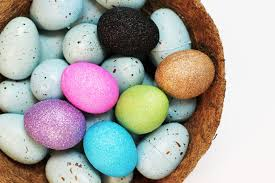 blown easter eggs glitter easter eggs lilyshop by daye