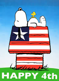country yard outlet happy 4th snoopy house flag 310245